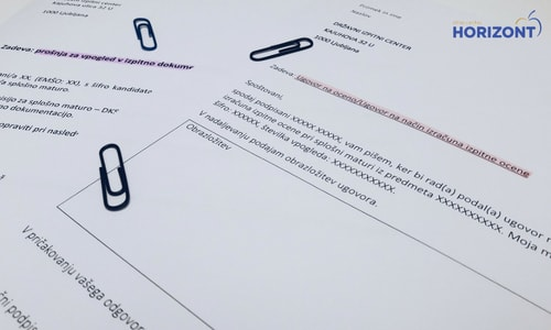 Ugovor na maturitetno oceno